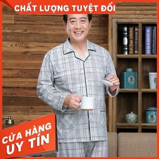 HÀNG CAO CẤP – Bộ Đồ Ngủ Bằng Cotton Cao Cấp Cho Nam – Hàng Cao Cấp