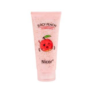 Gel Tẩy Tế Bào Chết Toàn Thân Chiết Xuất Đào Juicy Peach Nicor 200ml