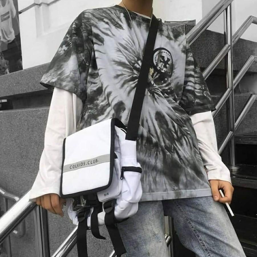Túi đeo chéo Colkids CND phản quang ss2 (tặng full tag + giấy thơm)