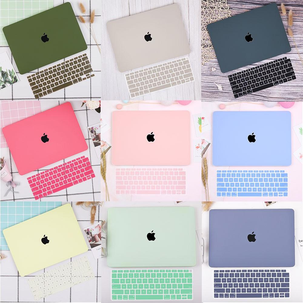 Vỏ bọc máy tính bằng nhựa cứng khoét rỗng Logo cho Apple Macbook Air 13 A1932 A2179 Pro 13 15 16 Keyboard Cover A2179 A2289 A2251 A2141