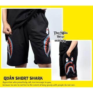 [HÀNG ĐỘC] Quần Short THUN SHARK – sz L va XL – Hàng có sẵn