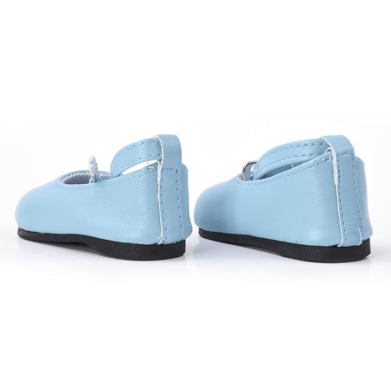 Giày Búp Bê Da 18 Inch G1c3 Phối Dây Thắt Nơ Xinh Xắn Cho Nữ
