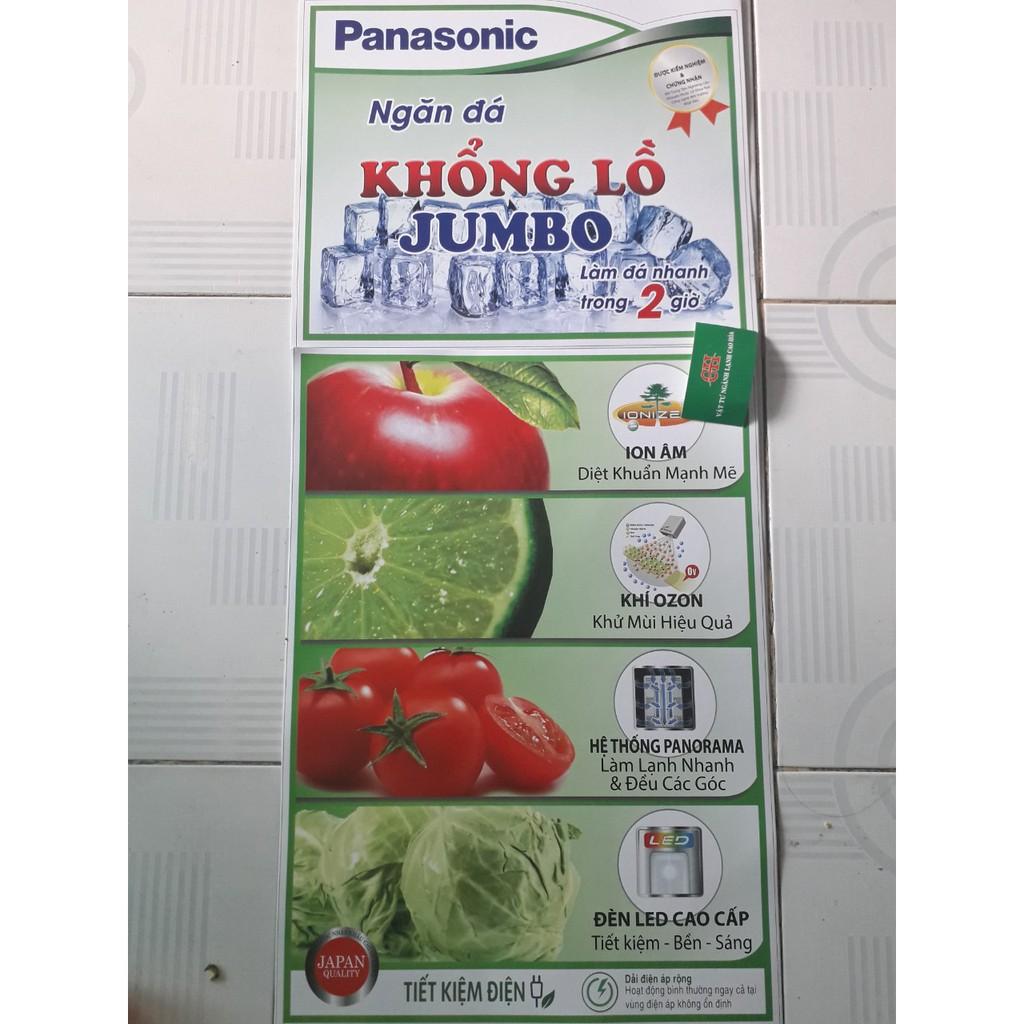 Tem dán tủ lạnh PANASONIC nhiều mẫu