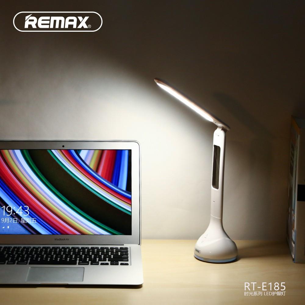 Đèn học để bàn chống cận thị Remax E185, đèn led chống cận tích điện chính hãng , bảo hành 12 tháng
