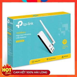 TP-Link TL- WN722N – USB Wifi (high gain) tốc độ 150Mbps – Hàng Chính Hãng