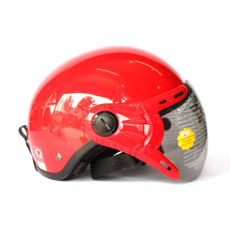 [Miễn phí ship] Mũ bảo hiểm GRS A33K chính hãng (màu đỏ)