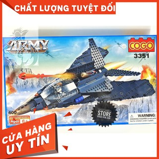 [HOT]Lego COGO 3351 Lắp Ráp Máy Bay Tàng Hình ( 400 Mảnh )-Hàng Có Sẵn