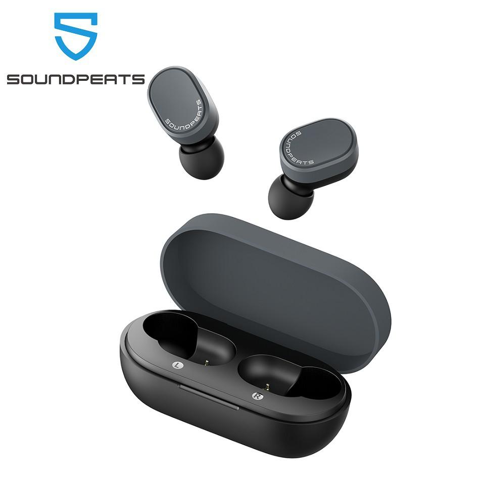 [Mã ELCB07 hoàn 15% xu đơn 99k] SoundPEATS True Wireless Bluetooth 5.0 Earbuds TWS In-ear Stereo Super Bass Earphones Touch Control IPX5 Waterproof