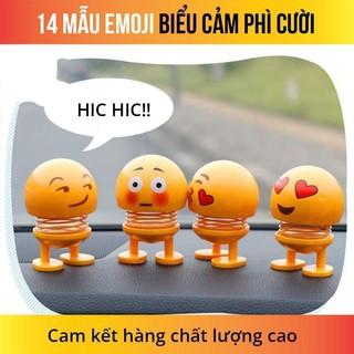 Emoji loại 1 hộp to hình biểu tượng cảm xúc thú nhún lò xo_minhhuong
