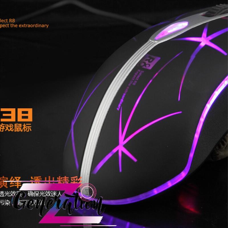 CHUỘT QUANG LED R8 1638 - MOUSE LED R8 (1638)