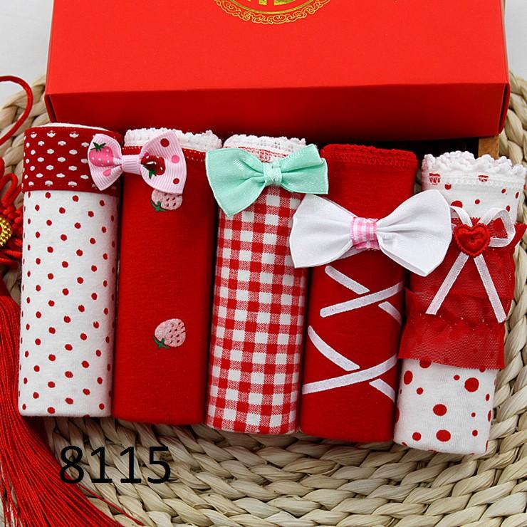 Hộp quà 5 quần lót nữ cotton ZOBEE