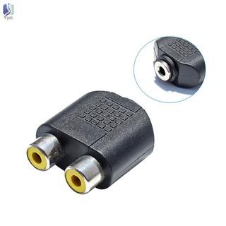 Set 2 bộ chuyển đổi kết nối tín hiệu âm thanh có 2 cổng RCA 3.5mm chuẩn AUX