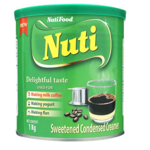 Creamer đặc có đường Nuti xanh NutiFood 1kg
