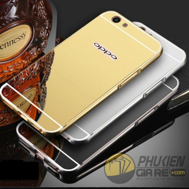 Ốp lưng tráng gương cho OPPO A59/ F1S cao cấp