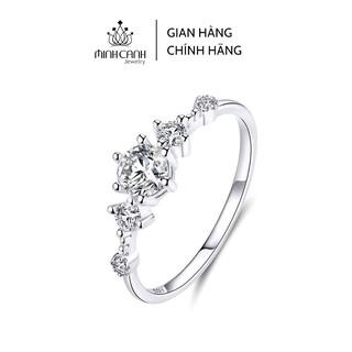 Nhẫn Bạc Nữ Đẹp Đính Đá Sang Trọng - Minh Canh Jewelry thumbnail
