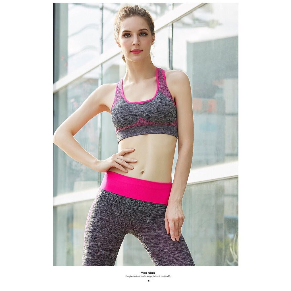 Set Tập Gym Nữ , Yoga, Thể Thao YT11 Cao Cấp Cực Xinh