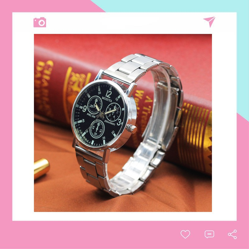 Đồng hồ nam Modiya thời trang phong cách Hàn Quốc DH100