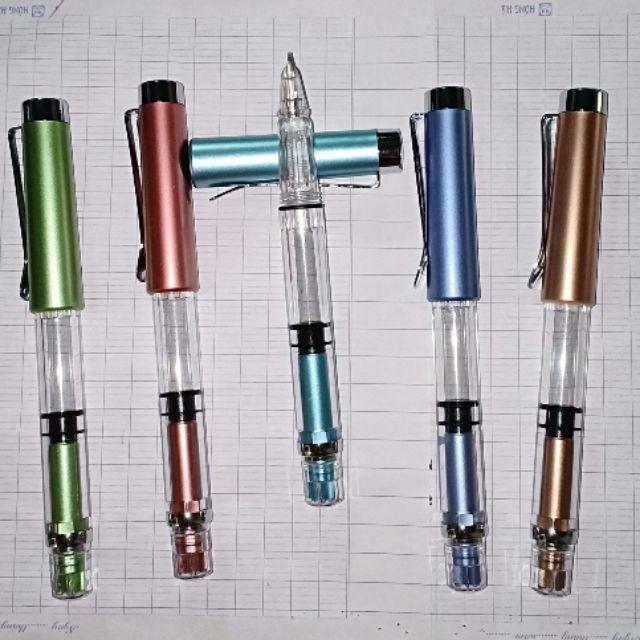 Bút ngòi kim tinh lá tre và 7 ngòi cùng loại.
