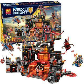 Lego NEXO KNIGHTS 10521 ( 14019 ) HANG Ổ NHAM THẠCH CỦA CHÚ HỀ JESTRO
