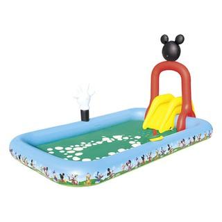 Hồ bơi phao cầu trượt Mickey Bestway 91016