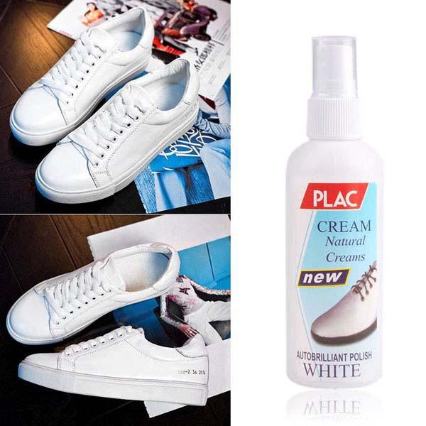 Combo 2 Chai xịt tẩy trắng giày dép túi xách Plac