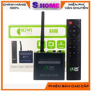 Kiwi ka08 - Bộ chuyển quang chuyên dụng cho tivi có bluetooth , điều khiển để đưa nhạc từ tivi ra Amply, loa (cổng quan thumbnail