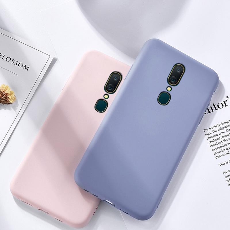 OPPO F11/ F11 Pro Liquid Silicone Soft Case Matte Thin TPU Phone Case