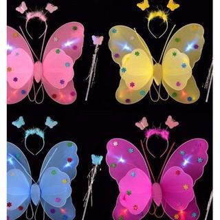 Cánh bướm phát sáng cho bé