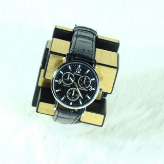 Đồng hồ nam nữ shshd dây da TẶNG HỘP và Pin thumbnail