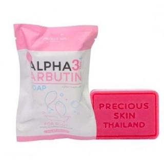 Xà phòng tắm ALPHA ARBUTIN 3+ Plus 80g hỗ trợ trắng da toàn thân thumbnail
