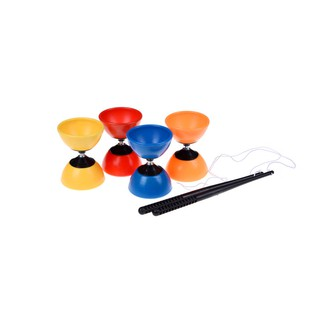 Hot Sale Big Bowl Diabolo + Free Plastic Sticks – Chinese YoYo Juggling Toy Gift