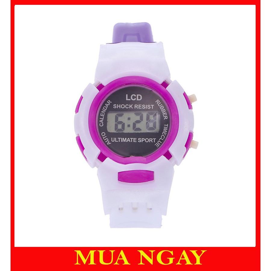 Đồng hồ thời trang trẻ em điện tử LCD Shock Resist DH75