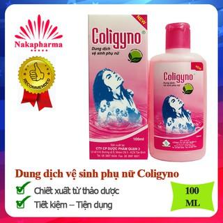 Dung dịch vệ sinh Coligyno Chiết xuất từ thảo dược Tiết kiệm, tiện dụng thumbnail