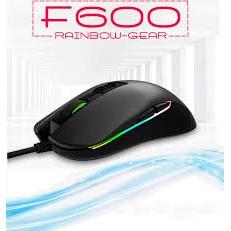 [Mã 267ELSALE hoàn 7% đơn 300K] Chuột máy tính Gaming RAINBOW-GEAR F600 USB Led RGB Cao cấp