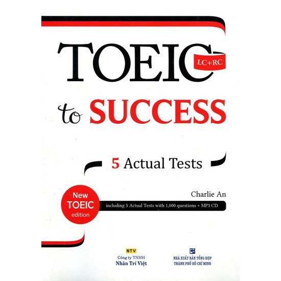 sách- TOEIC To Success (Kèm CD)