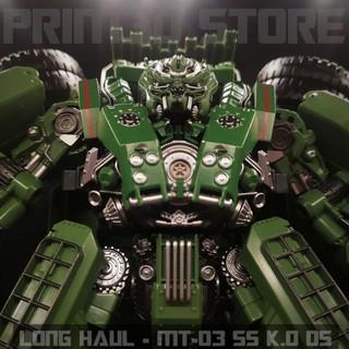 Mô hình Transformers Long Haul – MT04 Combiner Devastator K.O OS