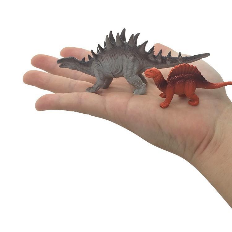 Random 1pcs Mô hình khủng long đồ chơi HDY chất lượng cao dùng tăng tương tác cho trẻ em / trang trí văn phòng