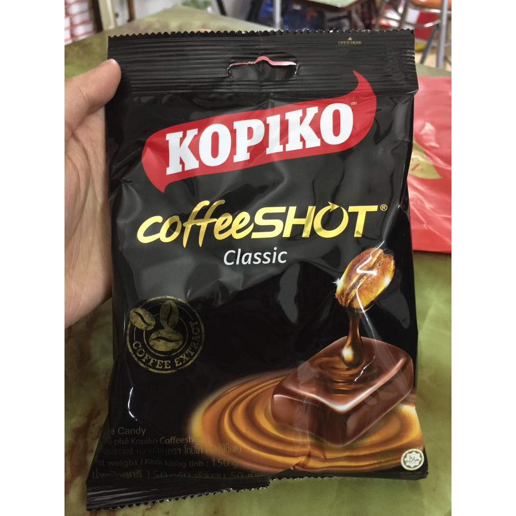 Kẹo Kopiko vị cà phê đen 150g - 14655243 , 1073525634 , 322_1073525634 , 15000 , Keo-Kopiko-vi-ca-phe-den-150g-322_1073525634 , shopee.vn , Kẹo Kopiko vị cà phê đen 150g