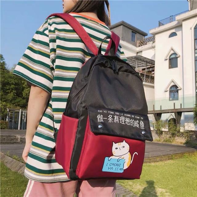 (ORDER) Balo Ulzzang Ins mèo lười đáng yêu mẫu Hàn Quốc chống thấm hàng loại đẹp - 14534083 , 2586631743 , 322_2586631743 , 245000 , ORDER-Balo-Ulzzang-Ins-meo-luoi-dang-yeu-mau-Han-Quoc-chong-tham-hang-loai-dep-322_2586631743 , shopee.vn , (ORDER) Balo Ulzzang Ins mèo lười đáng yêu mẫu Hàn Quốc chống thấm hàng loại đẹp