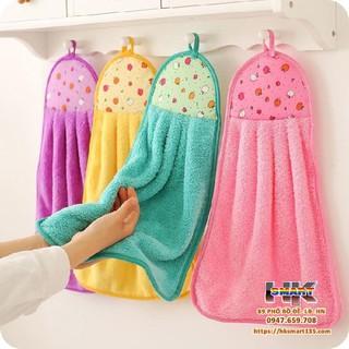 khăn lông lau tay dung trong nhà bếp siêu tiện lợi cho gia đình giao màu ngẫu nhiên