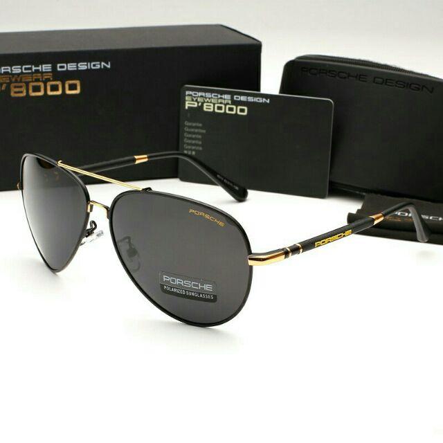 2c259c5351a3 Mắt kính nam thời trang cao cấp P8000 ( đầy đủ hộp )