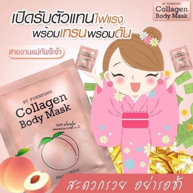 Ủ trắng collagen body mask ( ThaiLand )