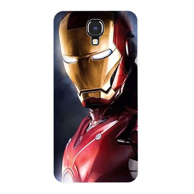 Ốp Lưng Silicone In Hình Iron Man 2 Cho Infinix Note 4 Zero Hot 5 6 S3 S3x Smart 2 Pro