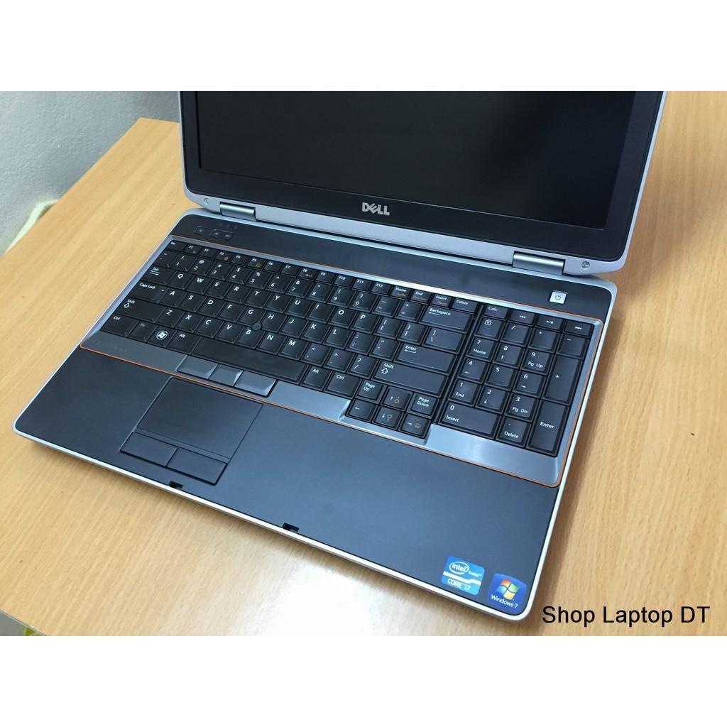[SALE] Laptop cũ Dell E6520 - Siêu Bền Bỉ- BH 1 Năm + KM - ổ cứng SSD xé gió - Bao chạy nhanh - Hình thức Like new 99%