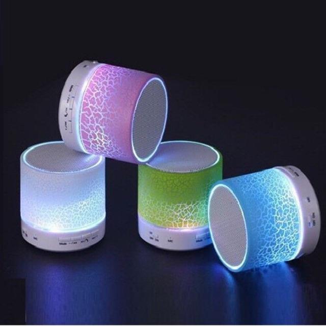 Loa Bluetooth Speaker Mini A9 Đèn Led Nhiều Màu