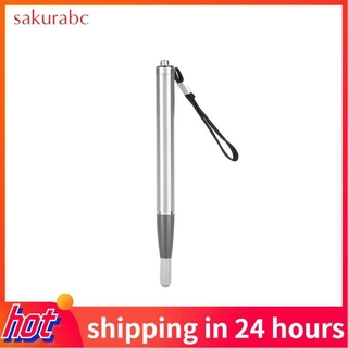 Sakurabc Eyebrow Tattoo Pen Permanent Makeup Manual Microblading Pencil with LED