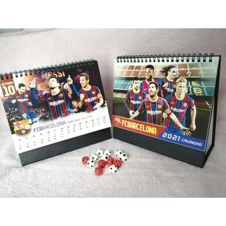 Lịch để bàn Barcelona năm mới 2021