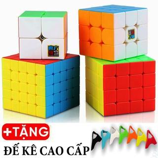Rubik 2x2, 3x3, 4x4, 5x5 - Combo 4 Rubik Không Viền Cao Cấp Nhập Khẩu Chính Hãng thumbnail