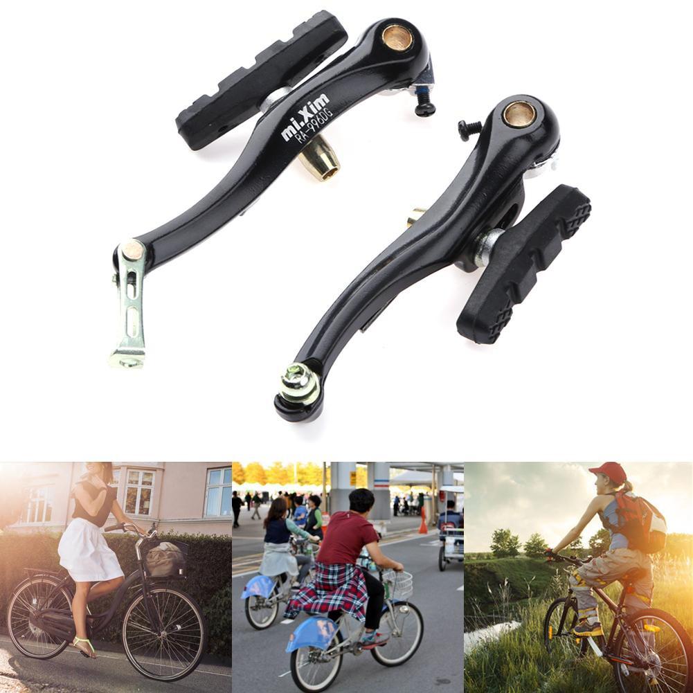Hi 2pcs Mountain Bike V Brake Aluminum Alloy Bicycle Brake Pads Bicycle  Parts