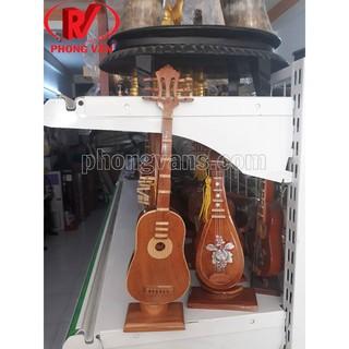 Đàn ghita thùng mô hình mini
